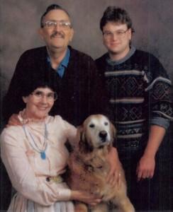 Gabe, Mary and Bryan Balazs